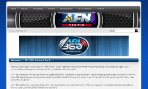 AFN(エイエフエヌ:American Forces Network)