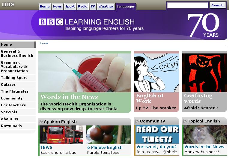 bbc learning english(BBCラーニングイングリッシュ)